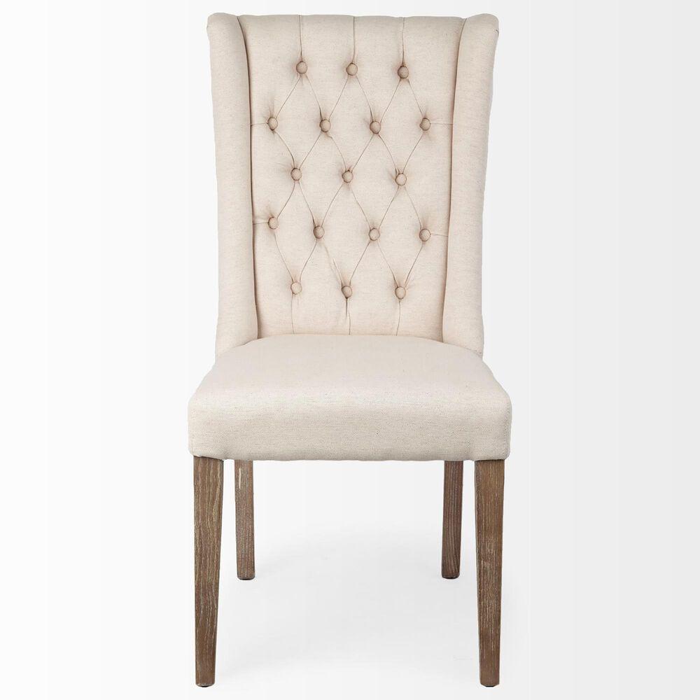 Mercana Mackenzie Parsons Chair in Cream, , large