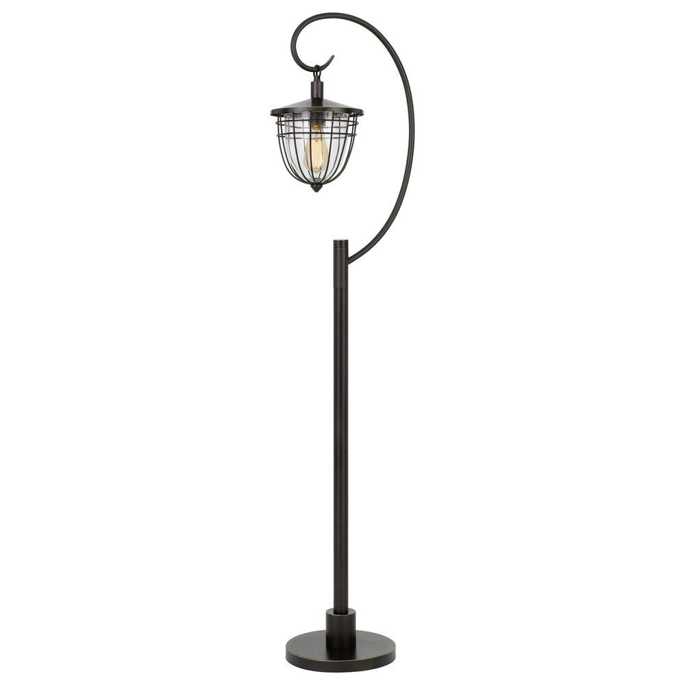 Cal Lighting Alma Floor Lamp in Dark Bronze, , large