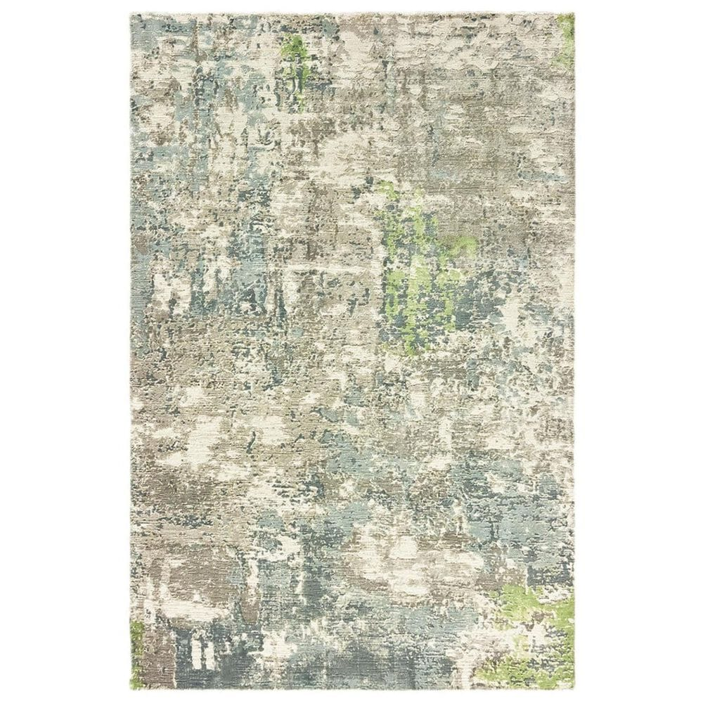 Oriental Weavers Formations 70007 6' x 9' Blue Area Rug, , large