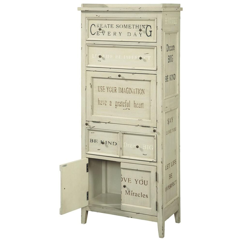 Accentric Approach Accentric Accents Benton Accent Cabinet in Cream, , large