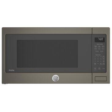 GE Profile 2.2 Cu. Ft. Countertop Sensor Microwave Oven in Slate, , large