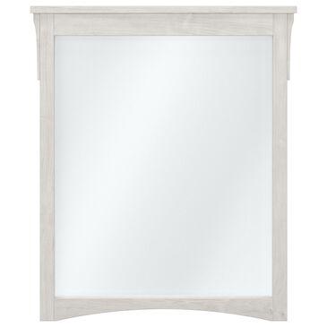 Bush Salinas Bathroom Bathroom Mirror in Linen White Oak, , large