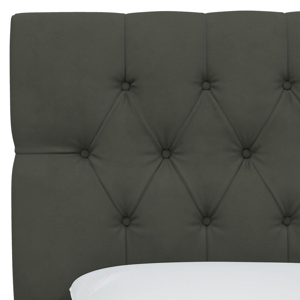 Skyline Furniture Twin Headboard in Velvet Pewter, , large