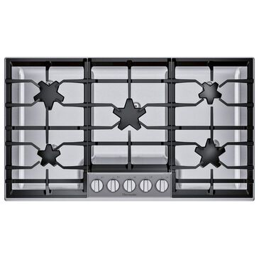 "Thermador 36"" Masterpiece Pedestal Star Burner Gas Cooktop in Stainless Steel, , large"