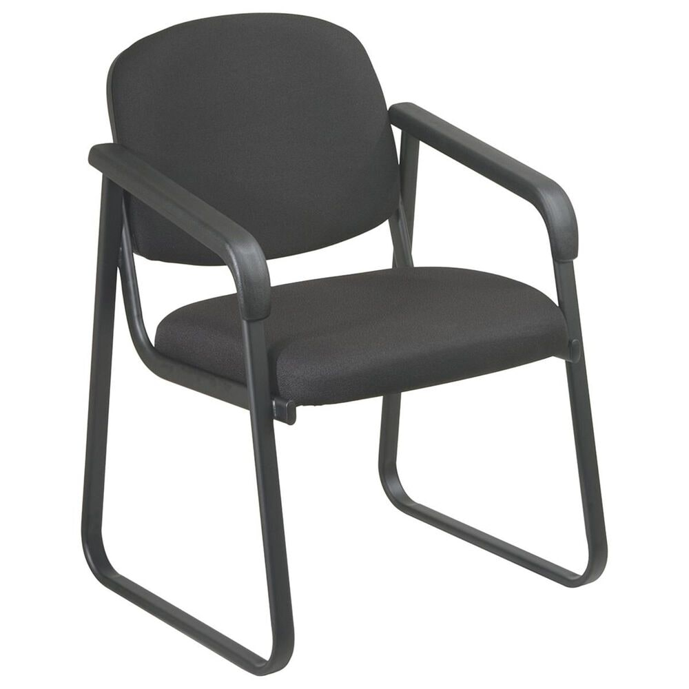 OSP Home Visitors Deluxe Arm Chair in Black, , large
