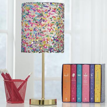 Signature Design by Ashley Maddy Youth Table Lamp in Gold, , large