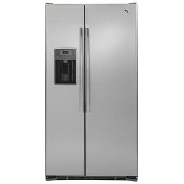GE Appliances 21.9 Cu. Ft. Counter-Depth Side by Side Refrigerator in Stainless Steel , , large