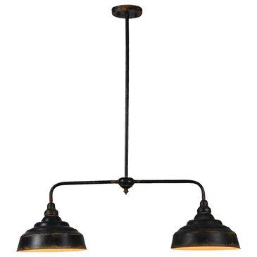 Southern Lighting Logan Bar Light in Distressed Black, , large