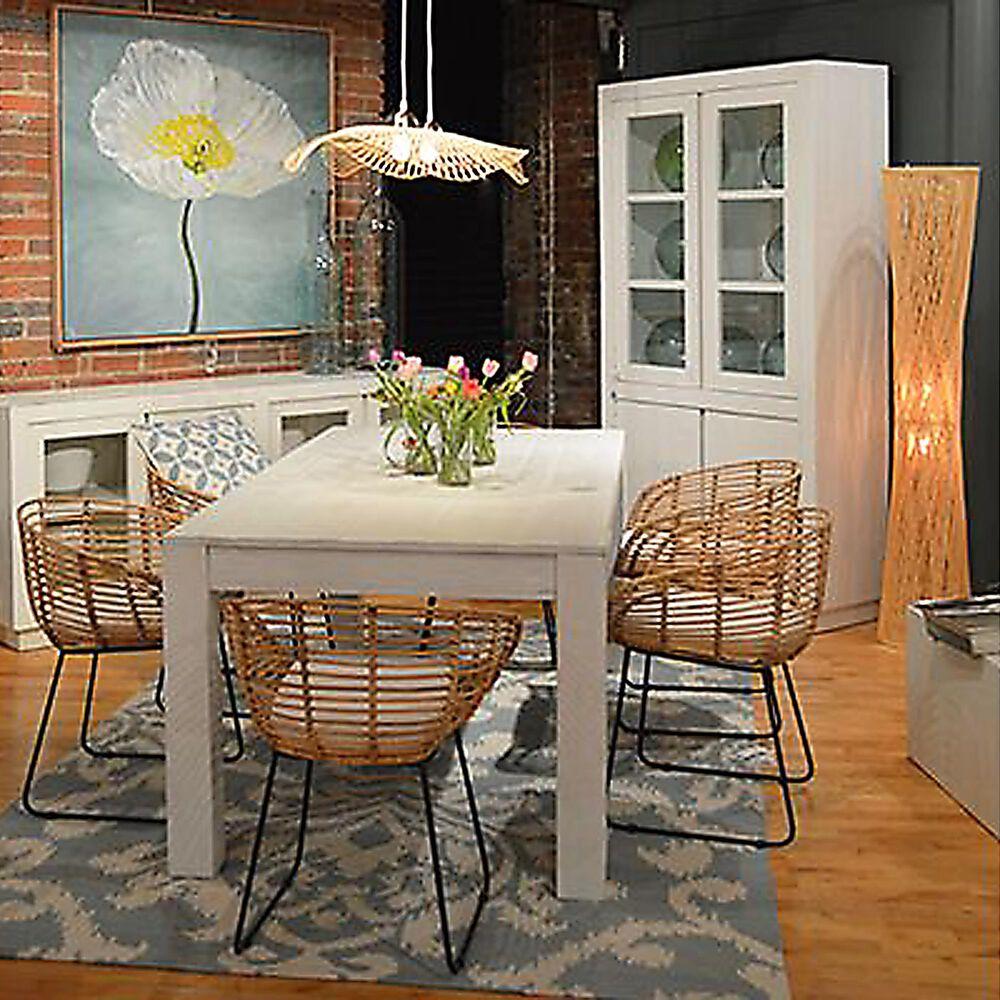 Blue Sun Designs Miranda Dining Table in White, , large