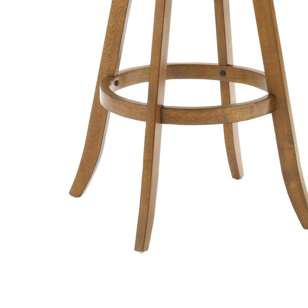 Richlands Furniture Fairfox Swivel Counter Stool in Oak, , large
