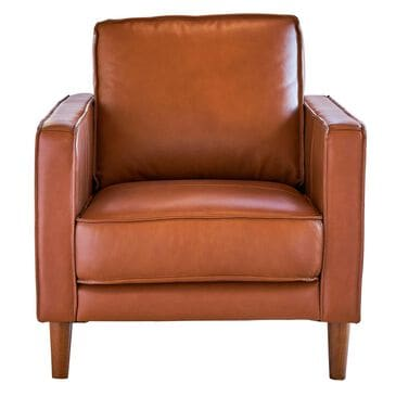 Mayberry Hill Pacer Leather Chair in Fiero Tan, , large