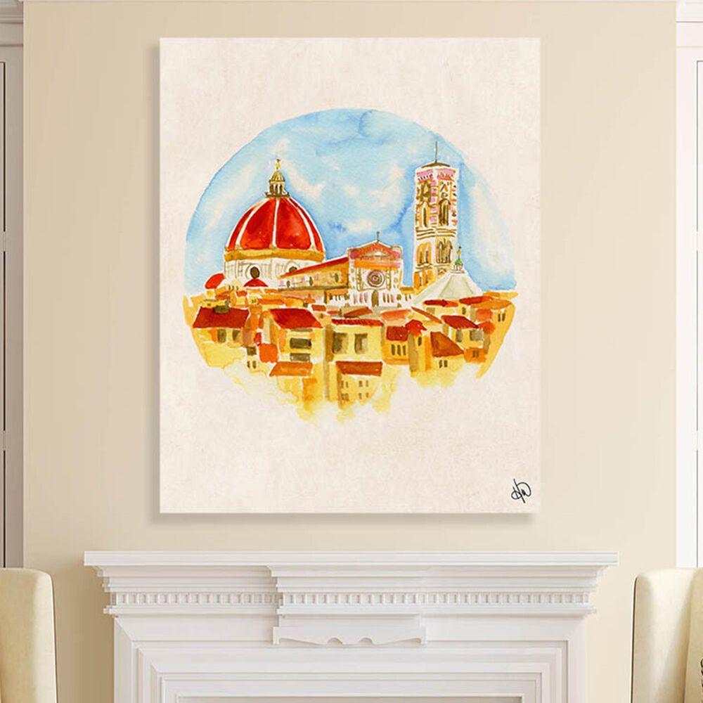 "Kathy Ireland Home ""Camera Con Vista"" 20"" x 16"" Canvas Wall Art Print, , large"
