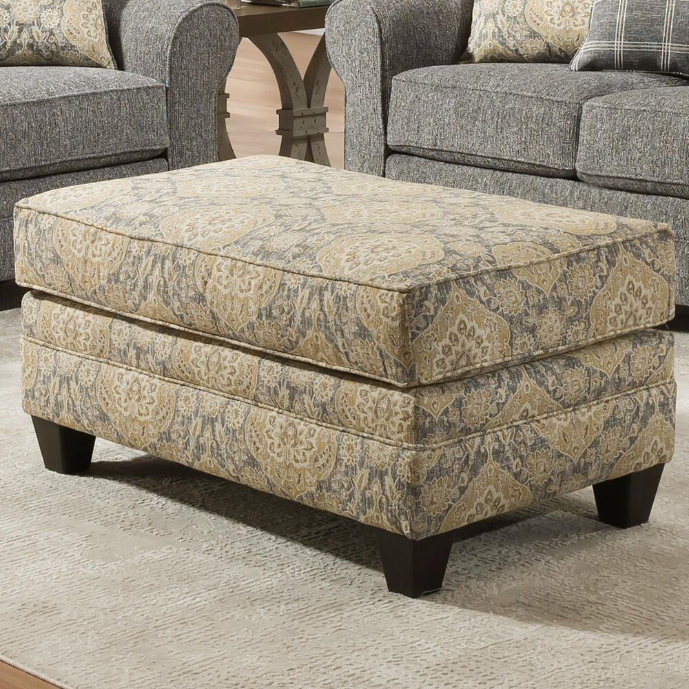 Southaven Cocktail Ottoman in Mayberry Midas, , large