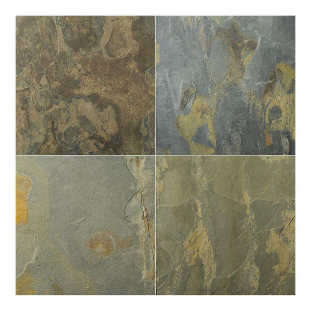 """Emser Slate Rustic Gold 12"""" x 12"""" Natural Stone Tile, , large"""