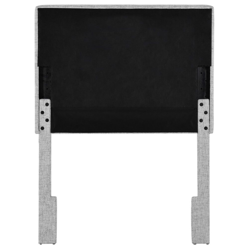 Accentric Approach Twin Adjustable Headboard in Gray, , large