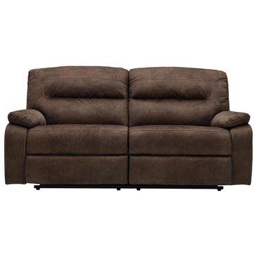 Benchcraft Bolzano Manual 2 Seat Reclining Sofa in Coffee, , large