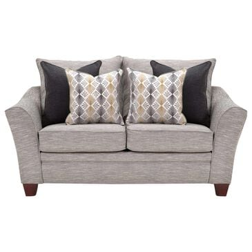 Moore Furniture Springer Loveseat in Hannigan Fog, , large
