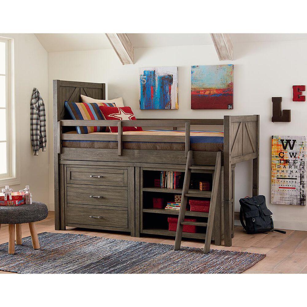 Legacy Classic Bunkhouse Single Dresser in Aged Barnwood, , large