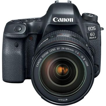 Canon EOS 6D Mark II DSLR Camera w/ 24-105mm Lens, , large