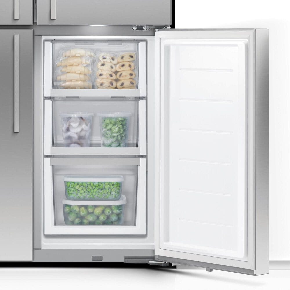 "Fisher and Paykel 36"" 4-Door French Door Refrigerator in Stainless Steel, , large"