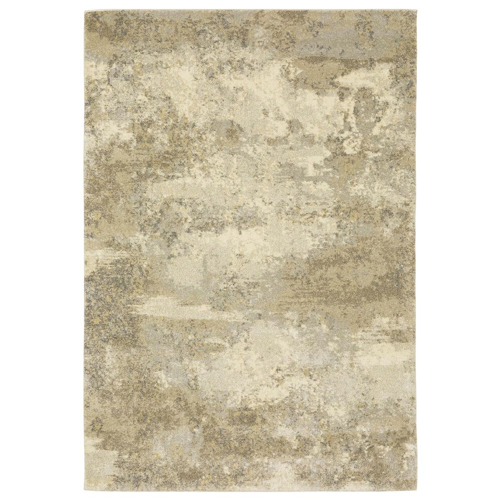 "Oriental Weavers Astor Colin 8322J 5'3"" x 7'6"" Gold Area Rug, , large"