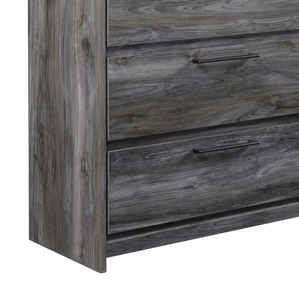 Signature Design by Ashley Baystorm 5 Drawer Chest in Smoke Gray, , large