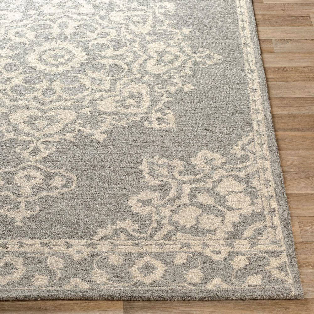"""Surya Granada GND-2310 5' x 7'6"""" Medium Gray, Beige and Charcoal Area Rug, , large"""