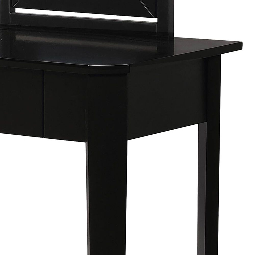 Furniture of America Osborne 3 Piece Vanity Set in Black, , large