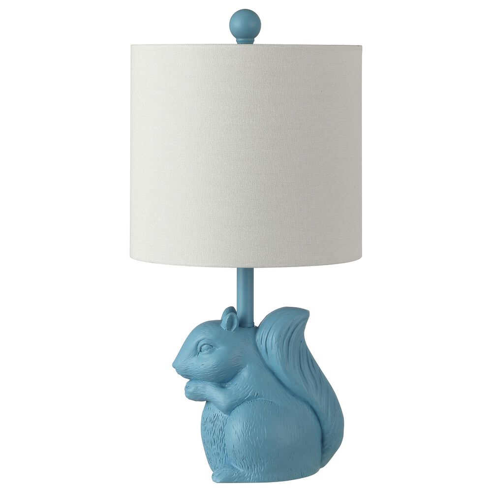 Safavieh Sunny Squirrel Table Lamp in Blue, , large