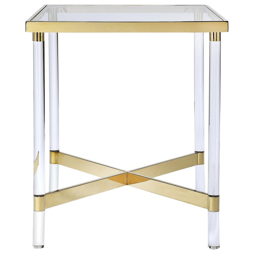 Butler Charleise End Table in Gold, , large