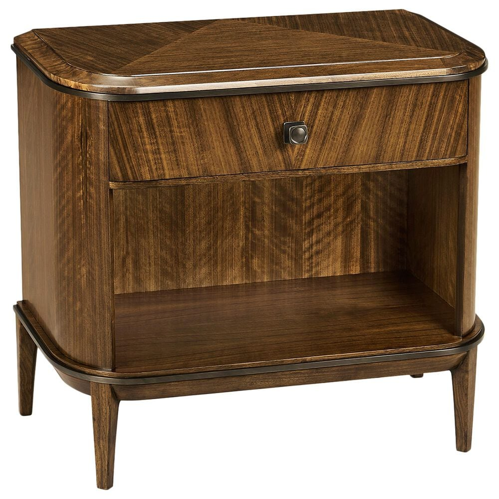 Jonathan Charles Fine Furniture Toulouse Nightstand in Walnut, , large