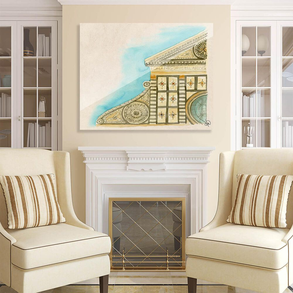 "Kathy Ireland Home ""Santa Maria Novella"" 11"" x 14"" Acrylic Wall Art Print, , large"