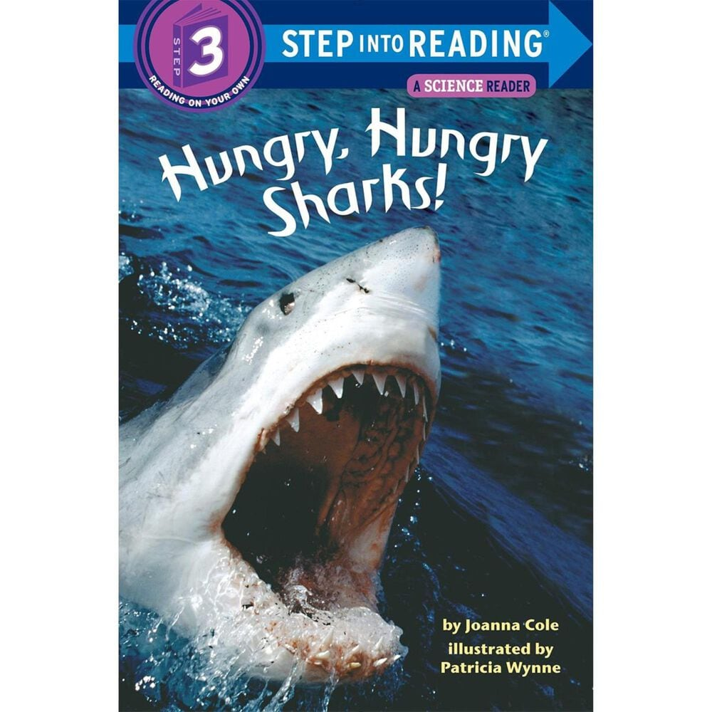 Hungry, Hungry Sharks (Step into Reading), , large