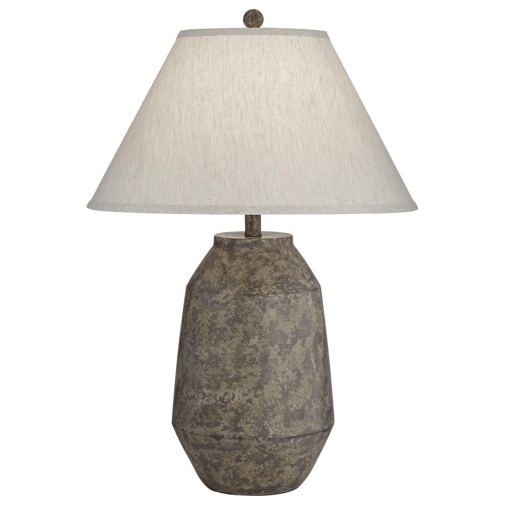 Pacific Coast Lighting Lagos Table Lamp in Dark Terracota, , large