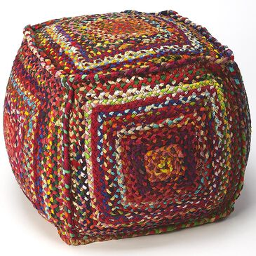 Butler Gypsy Pouffe in Multi-Color, , large