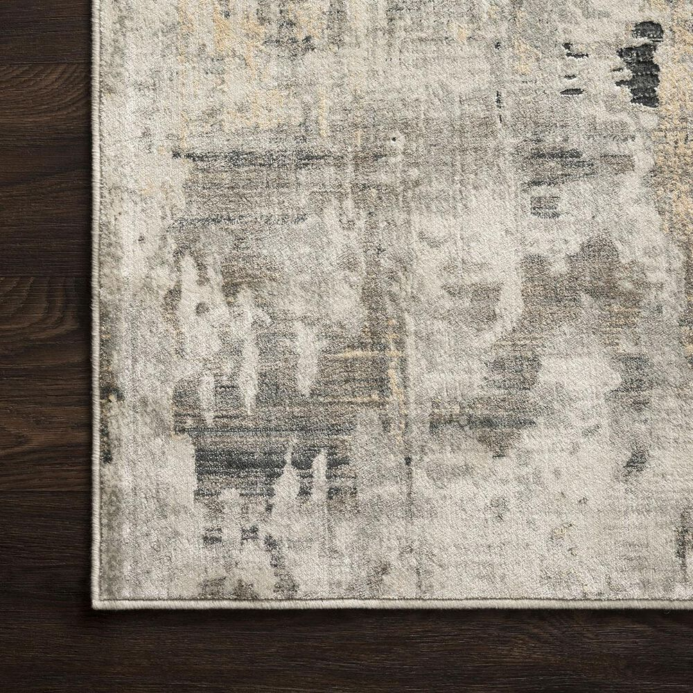 """Loloi Cascade CAS-04 3'7"""" x 5'7"""" Ivory and Natural Area Rug, , large"""