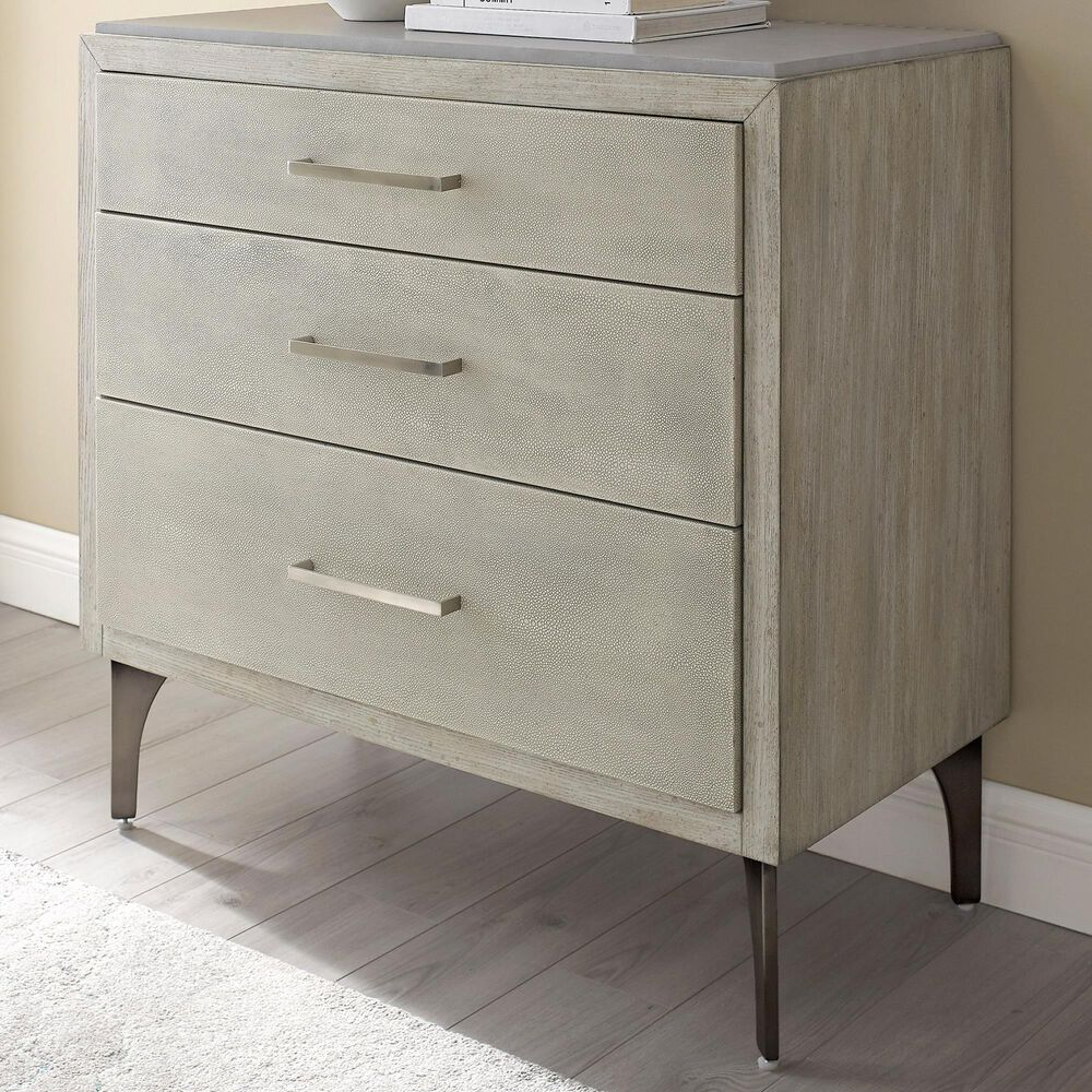 Accentric Approach 3-Drawer Chest in Gray, , large