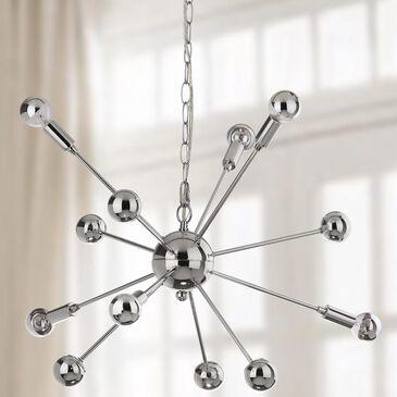 "Safavieh Matrix Sputnik 24.75"" 6-Light Pendant in Chrome, , large"