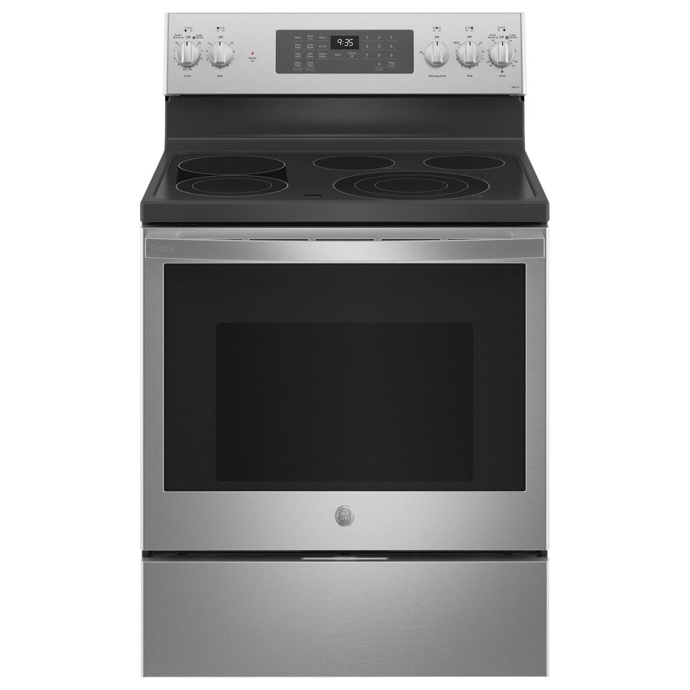 "GE Appliances 30"" Smart Free-Standing Electric Convection Range in Stainless Steel, , large"