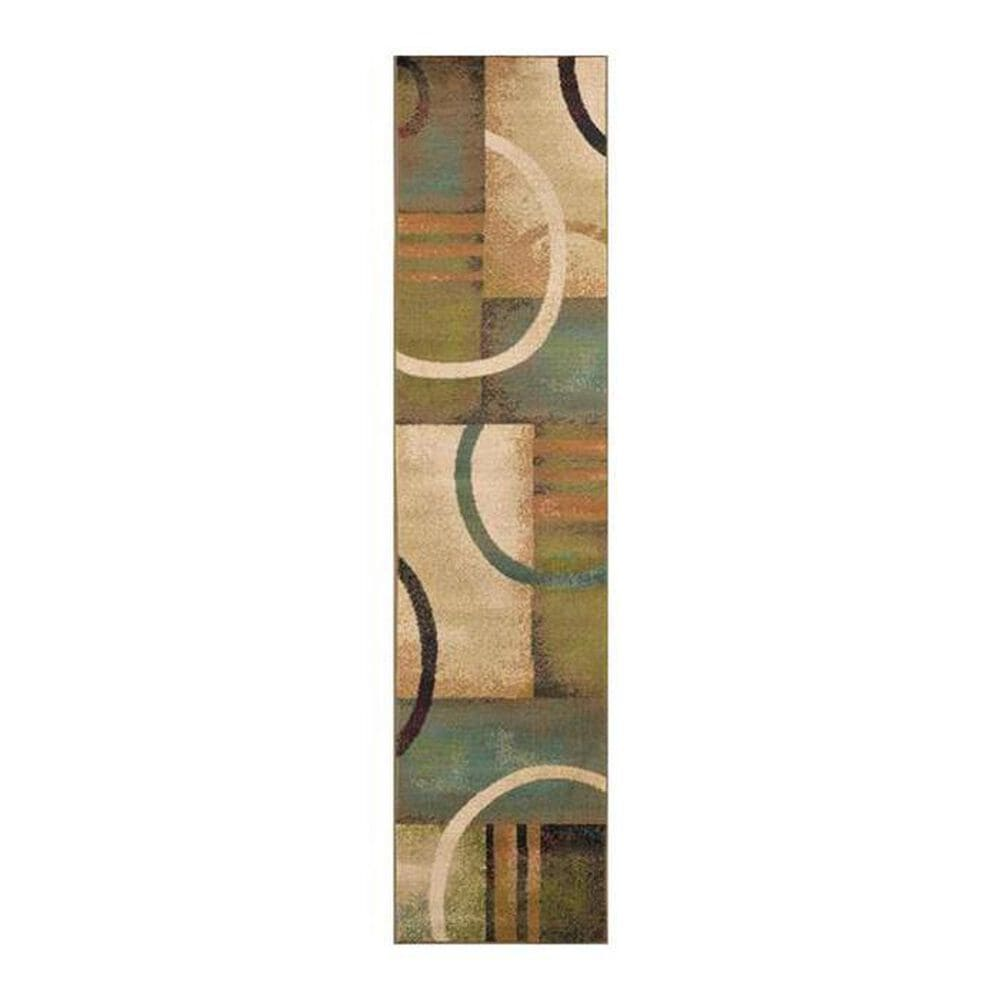 """Oriental Weavers Emerson 2231A 1'10"""" x 7'6"""" Multi-Color Runner, , large"""