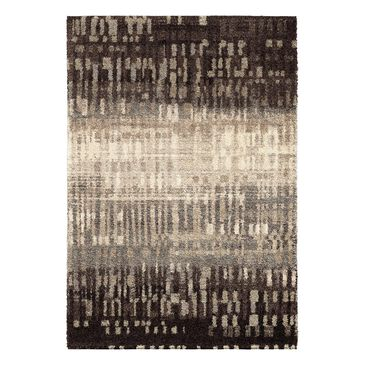 "Orian Metropolitan 1673 City Drizzle 7'10"" x 10'10"" Slate Area Rug, , large"