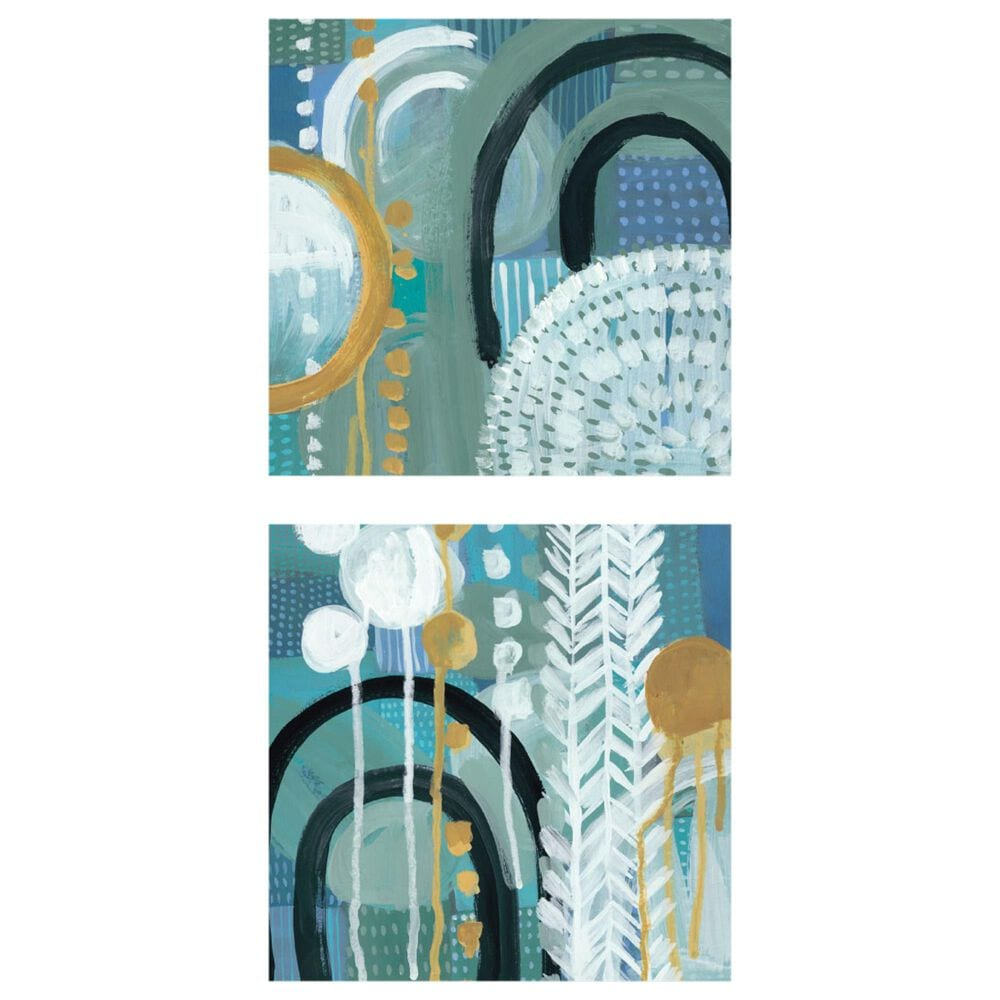 Courtside Market Ocean Garden I & II 2-Piece Canvas Set, , large
