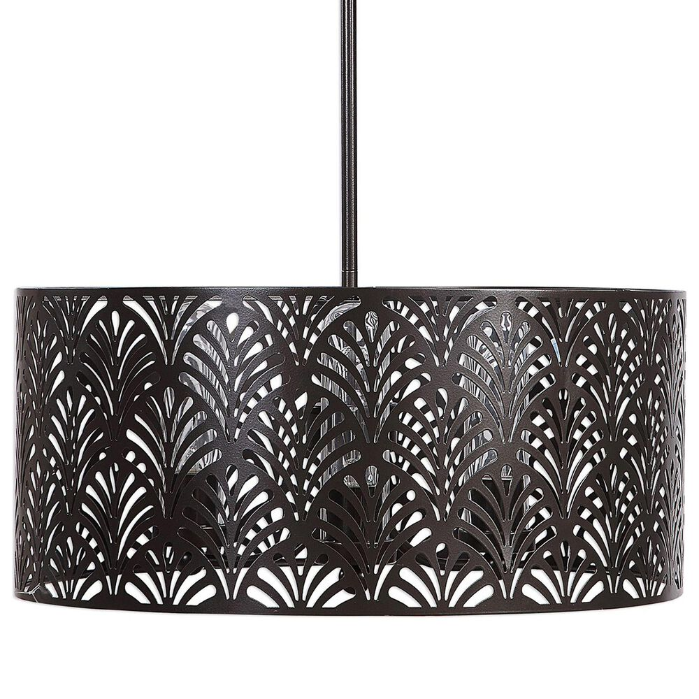 Uttermost Myrtle 3-Light Outdoor Pendant, , large