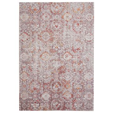 """Feizy Rugs Armant 3946F 6'7"""" x 9'6"""" Pink and Gray Area Rug, , large"""