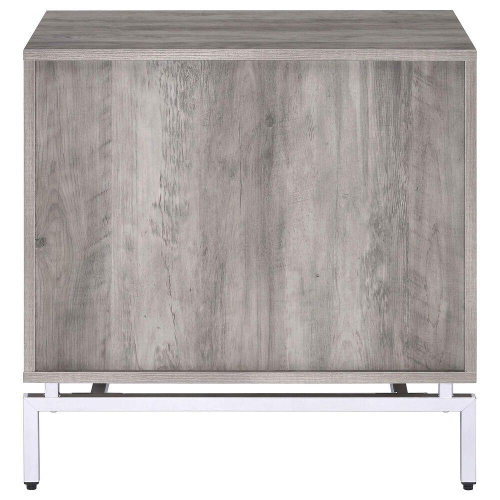 Gunnison Co. Cistus Accent Table in Gray Oak/White, , large
