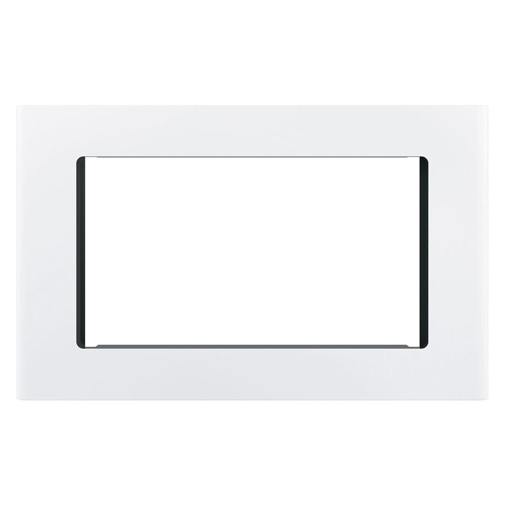"""GE Appliances 27"""" Optional Built-In Microwave Trim Kit in White, , large"""