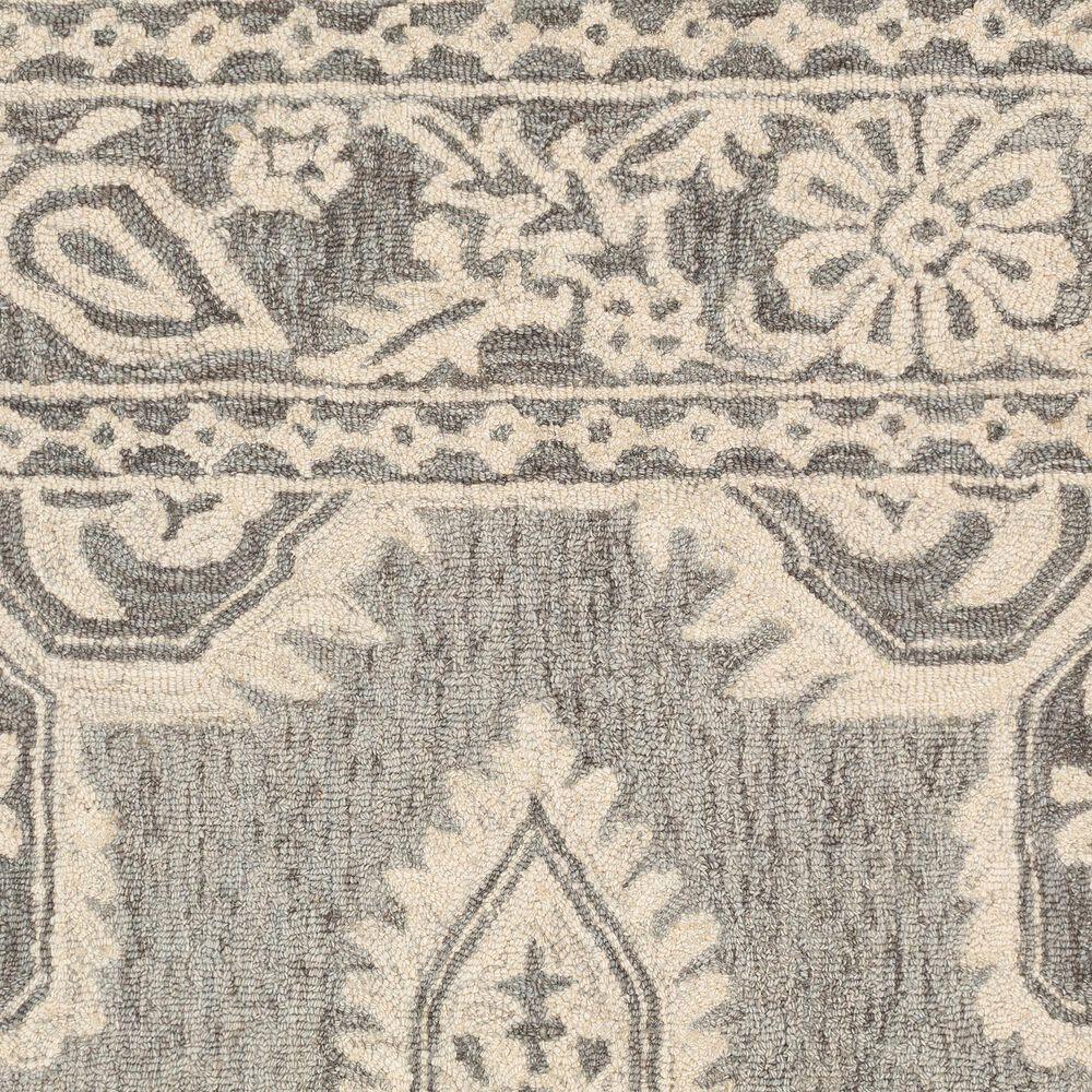 "Surya Granada GND-2302 2'6"" x 8' Medium Gray and Beige Scatter Rug, , large"