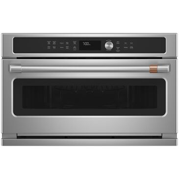 Cafe 1.7 Cu. Ft. Built-In Microwave and Convection Oven in Stainless Steel , , large