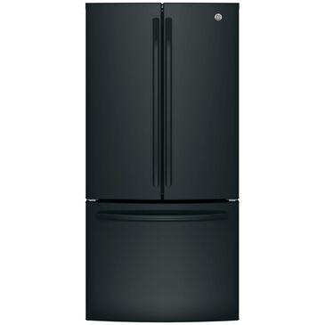GE Appliances 18.6 Cu. Ft. Counter-Depth French-Door Refrigerator in Black , , large
