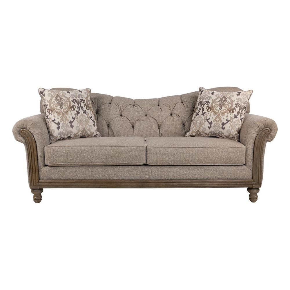 Hughes Furniture Sofa in Sandstone Oyster, , large
